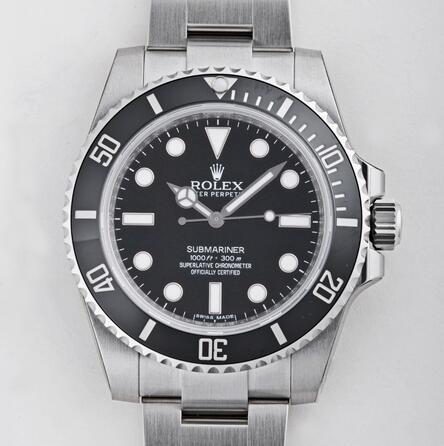 ロレックス サブマリーナ 114060 ブラック メンズ スーパーコピー時計